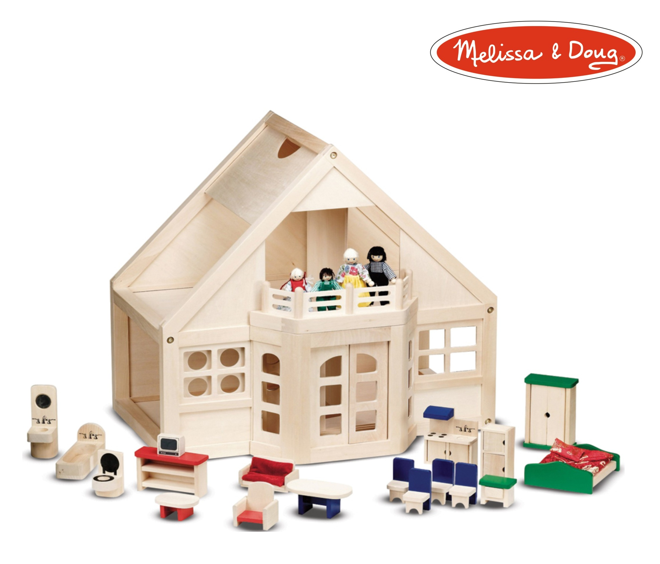 Win a Melissa and Doug Dollhouse!
