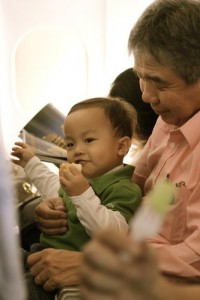 travelling with babies and toddlers
