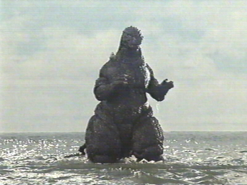 godzilla from the sea