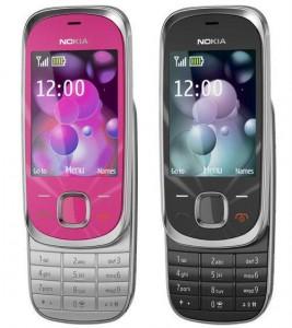 Nokia 7230 black pink