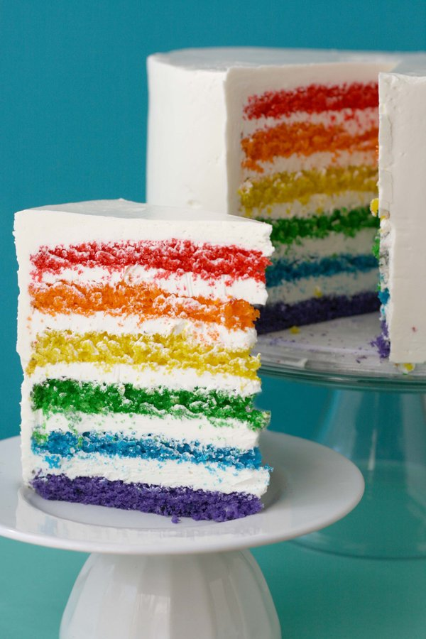 Super Epic Rainbow Cake by Whisk Kid