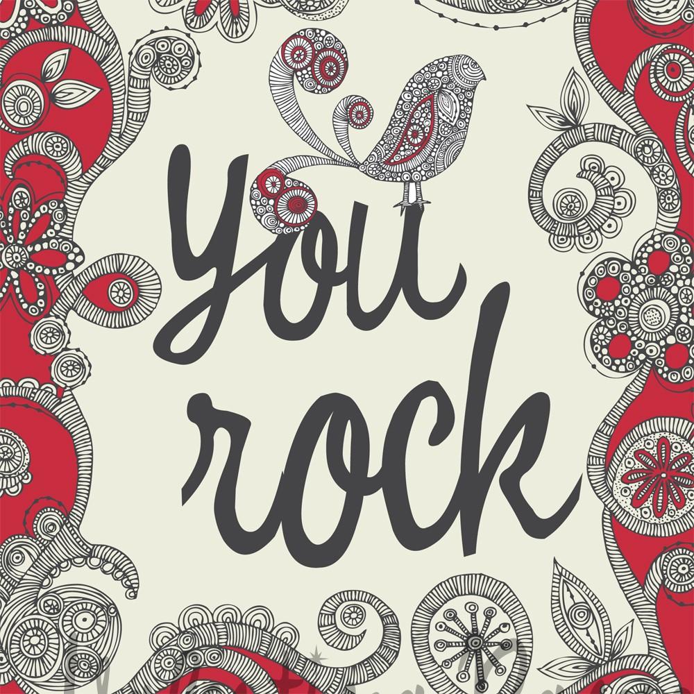 you rock print
