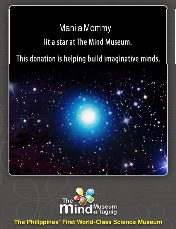 Mind Museum Certificate