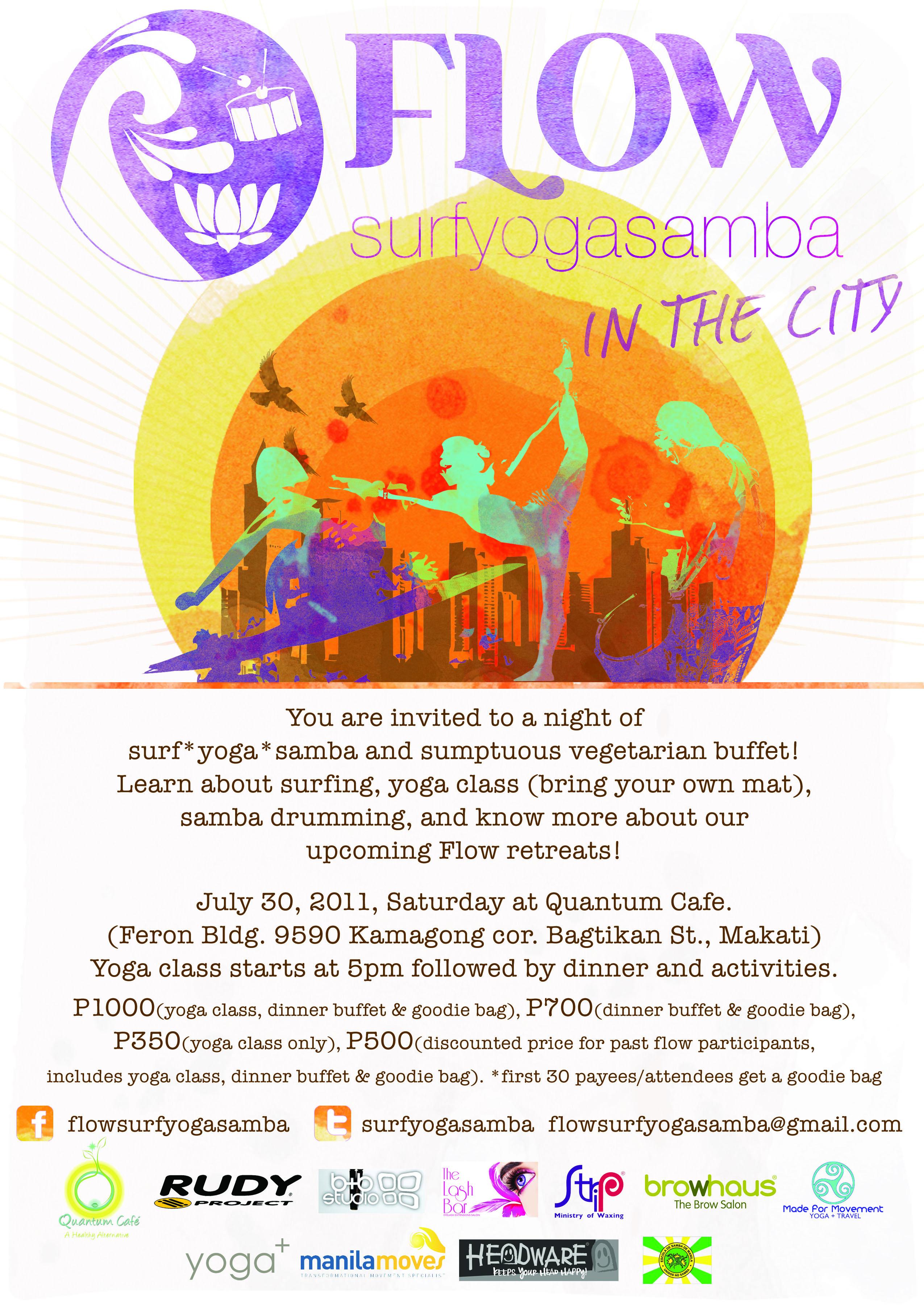 Surf Yoga Samba Manila