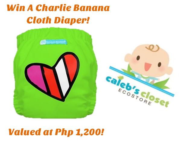 charlie banana cloth diaper giveaway
