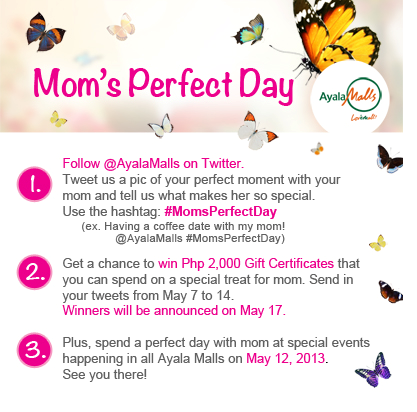 Mom's Perfect Day with the SoMoms and Ayala Malls