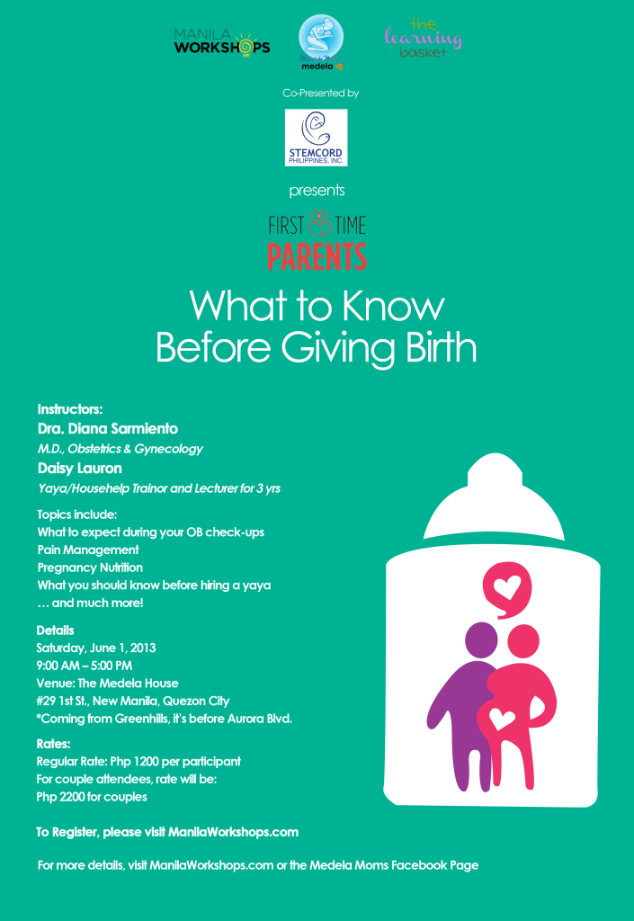what to know before giving birth