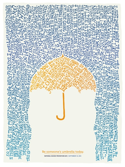 be someone's umbrella today