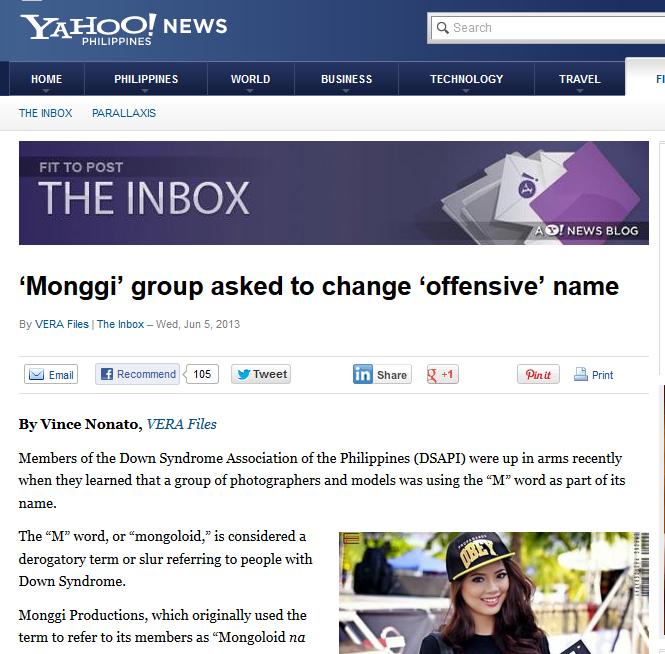 yahoo philippines monggi report 2