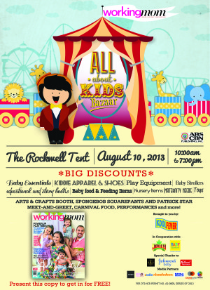 Shopping Alert: All About Kids Bazaar 2013
