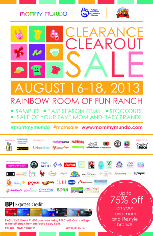 Shopping Alert: Mommy Mundo Clearance Clear Out Sale!