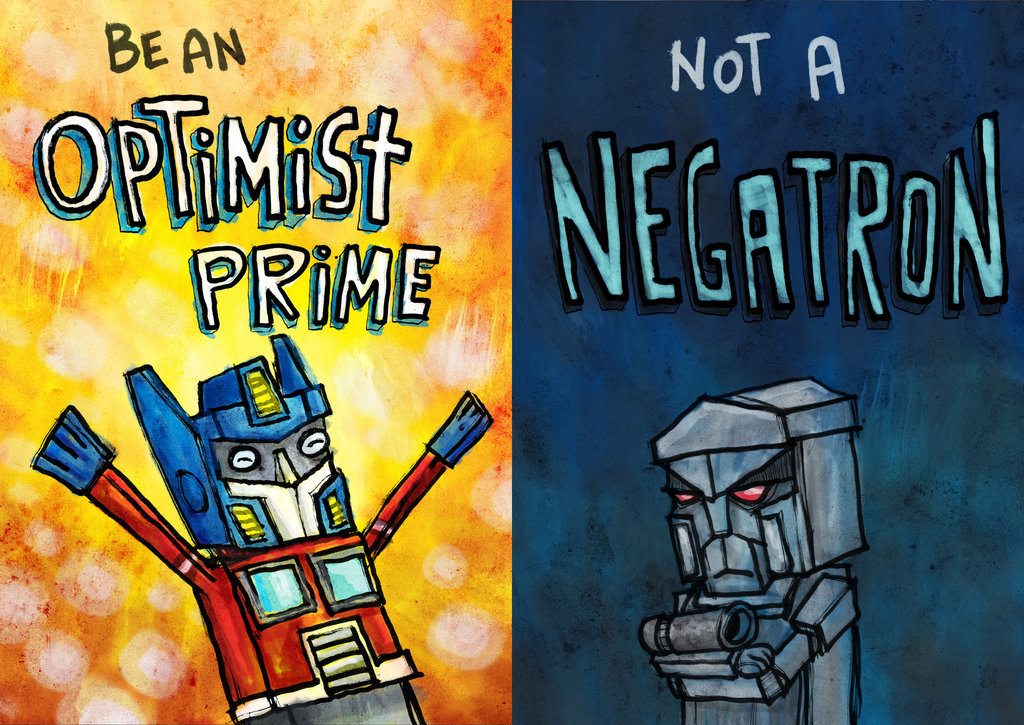 negatron optimist prime