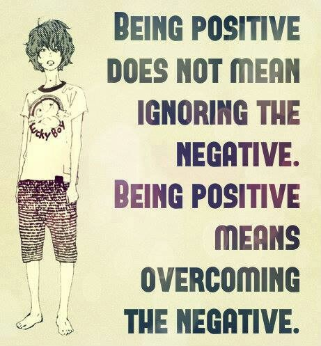 Being a super positive person