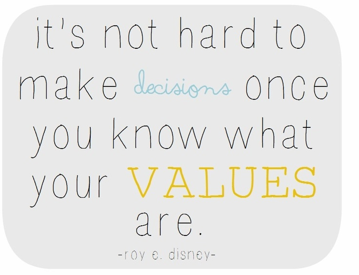 values quote roy disney