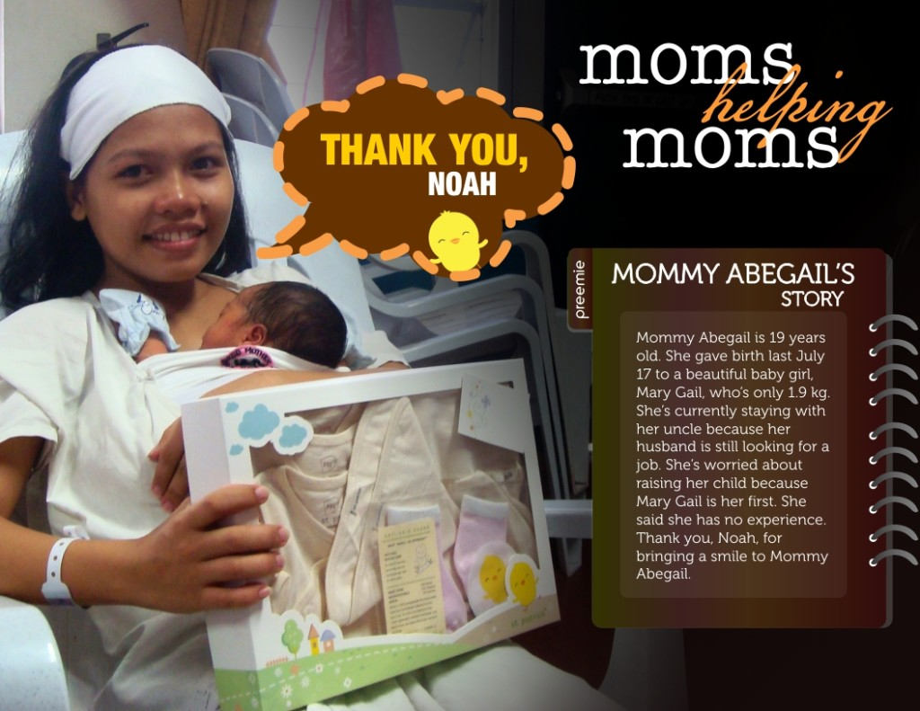 Noah Moms Helping Moms
