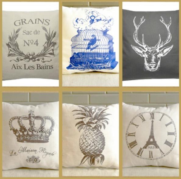 Domesticity Throw Pillows