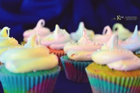 Tazzy Cakes Rainbow Cupcakes 2