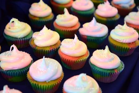 Tazzy Cakes Rainbow Cupcakes