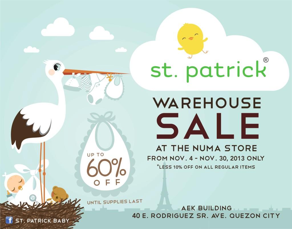 St Patrick Bodega Sale 2