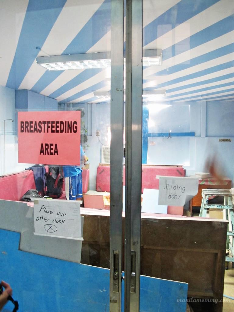 fabella memorial hospital breastfeeding area