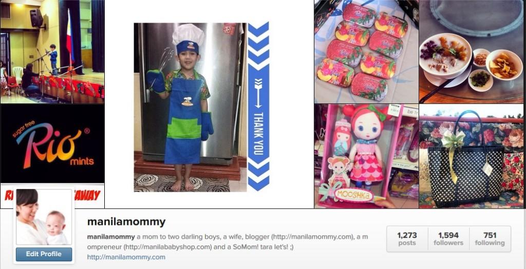 momblogger instagram