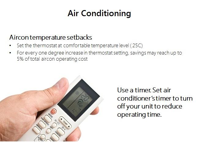 meralco energy efficiency tips air conditioner