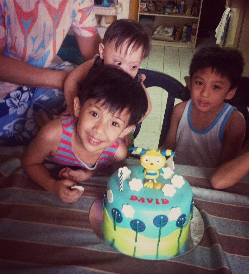 David and Noah and cousins again