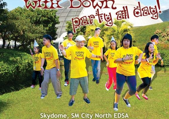 Happy Walk 2014 and Dine for Down