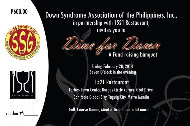 dine for downs 2014