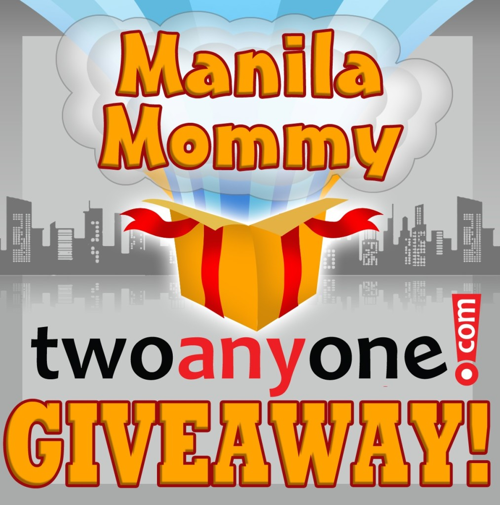 Manila Mommy  twoanyone Quick Delivery Giveaway