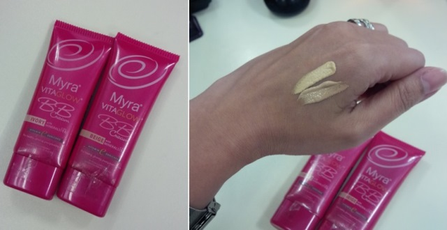 myra vitaglow BB cream