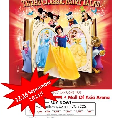New Dates to Disney Live: Three Classic FairyTales Plus How to Get Discounted Tickets!