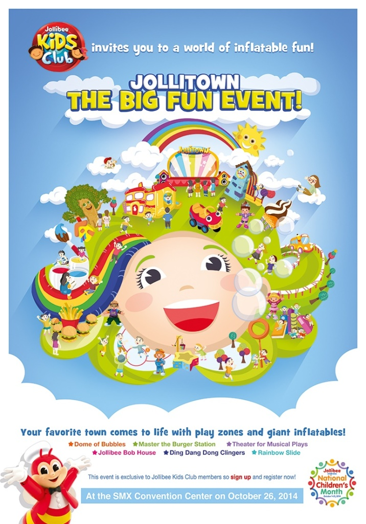 JolliTown The Big Fun Event FB Poster