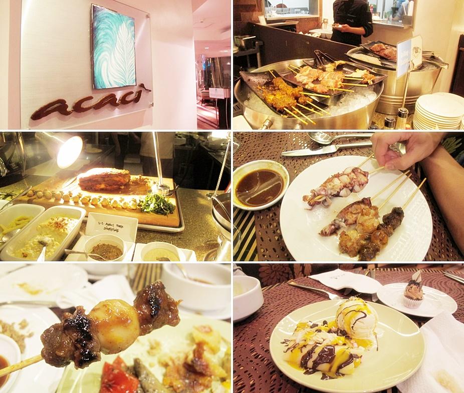 acacia hotel acaci dinner buffet