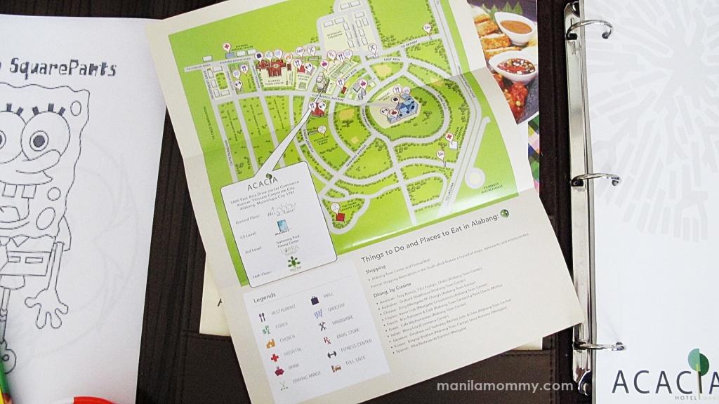 acacia hotel ayala map