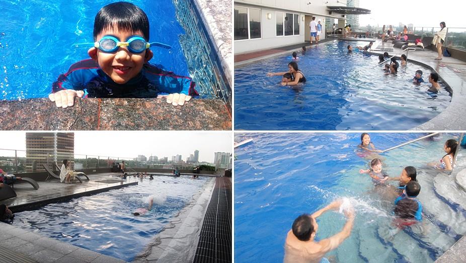 acacia hotel pool 3rd floor