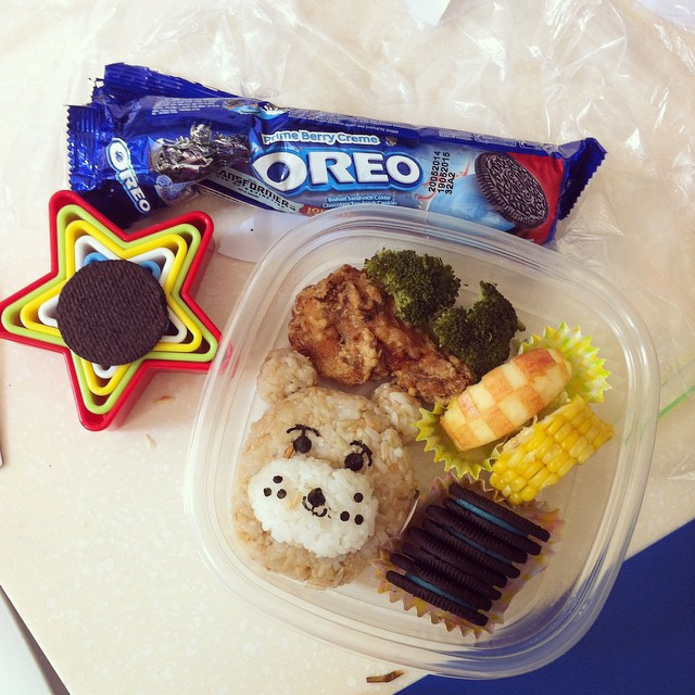 oreo bento together bento mommas