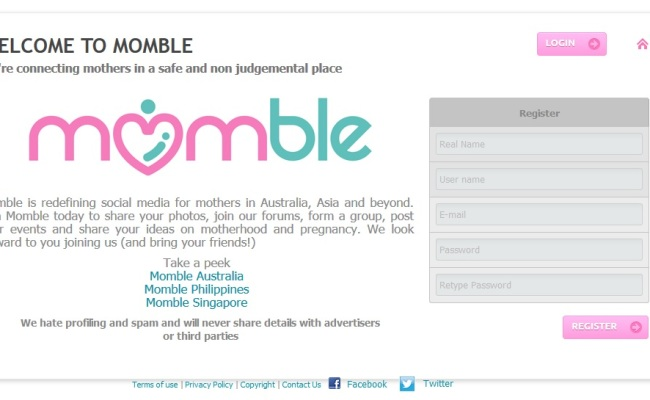 Introducing Momble (Plus a Giveaway!)
