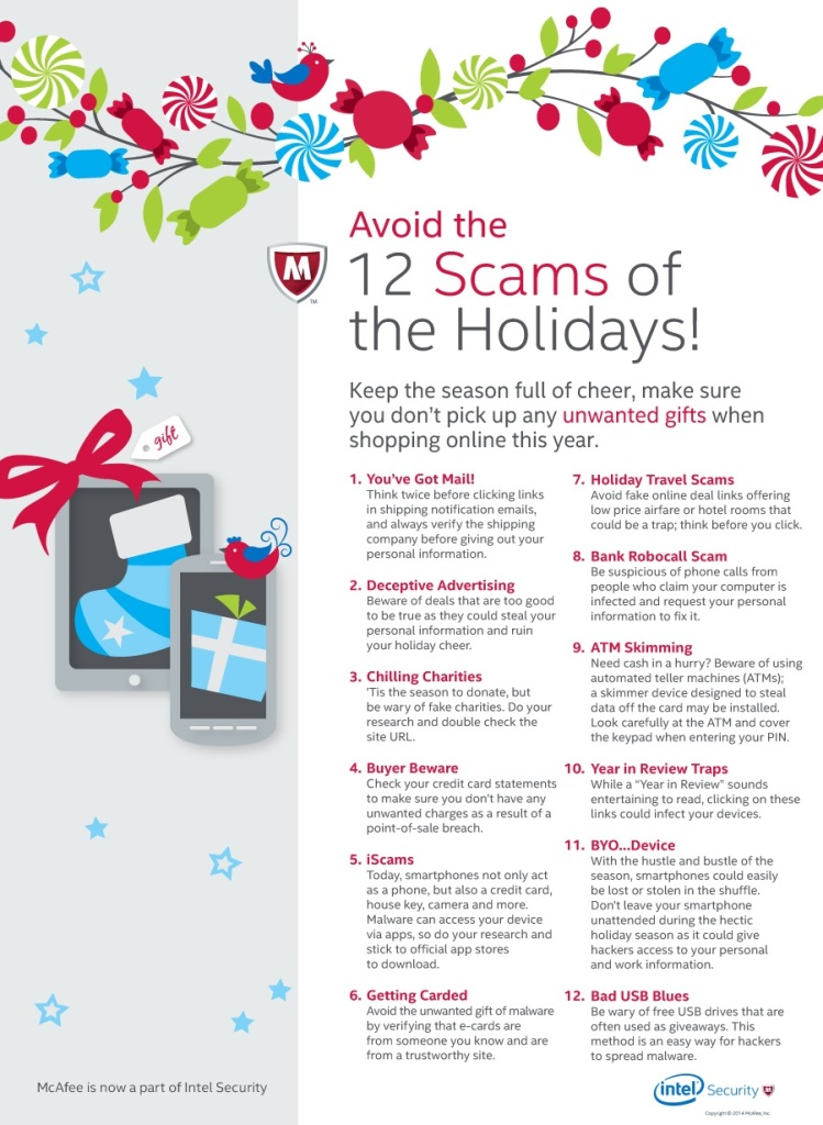 The 12 Scams of Christmas Holidays