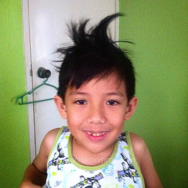 kuya with funky hair