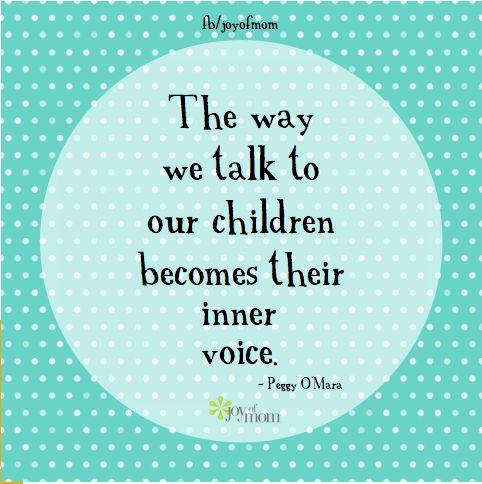peggy o' mara quote parenting inner voice