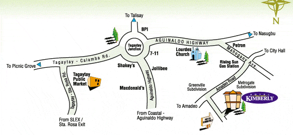 hotel-kimberly-tagaytay-location-map