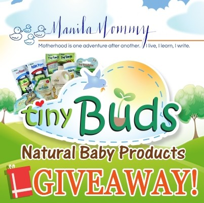 Fun Find (and a Giveaway!!): Tiny Buds Natural Baby Products