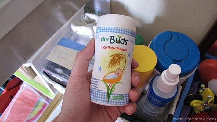 Tiny Buds Rice Baby Powder