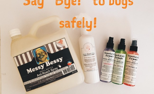 safe bug sprays
