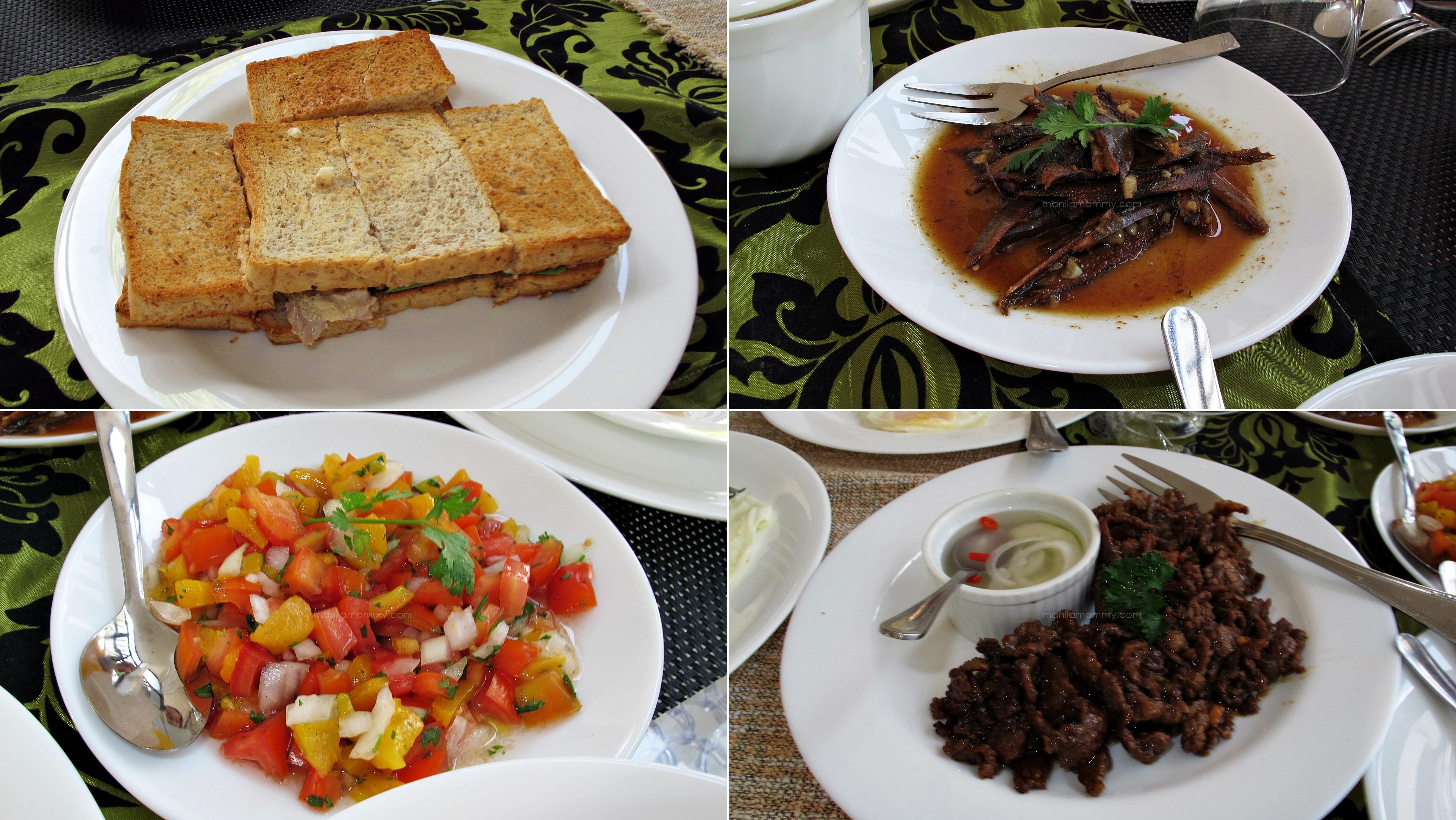 Wilsons Place Tagaytay Breakfast