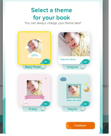 Pampers First Book 5