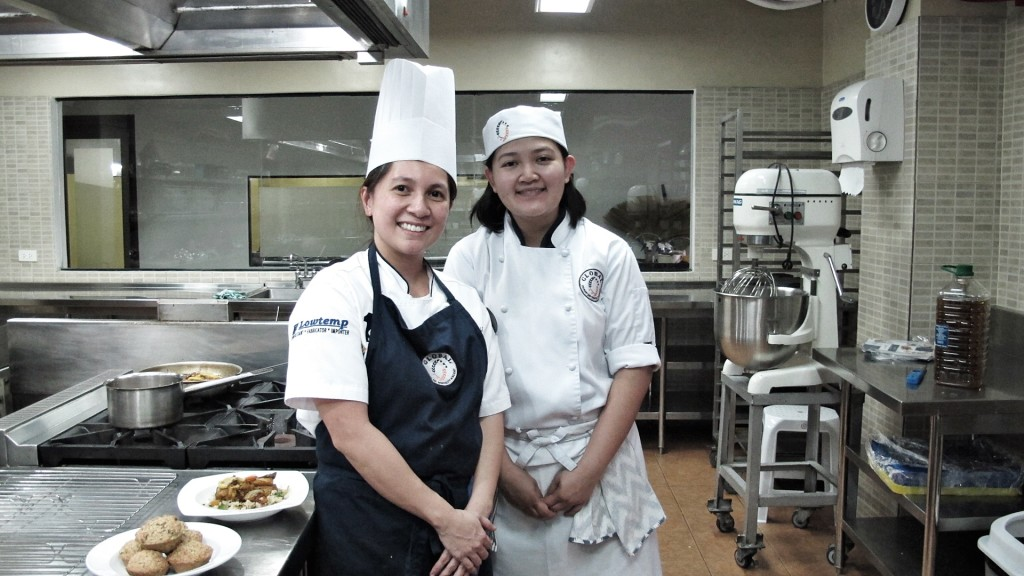 Chef Bianca and Chef Erika De Leon
