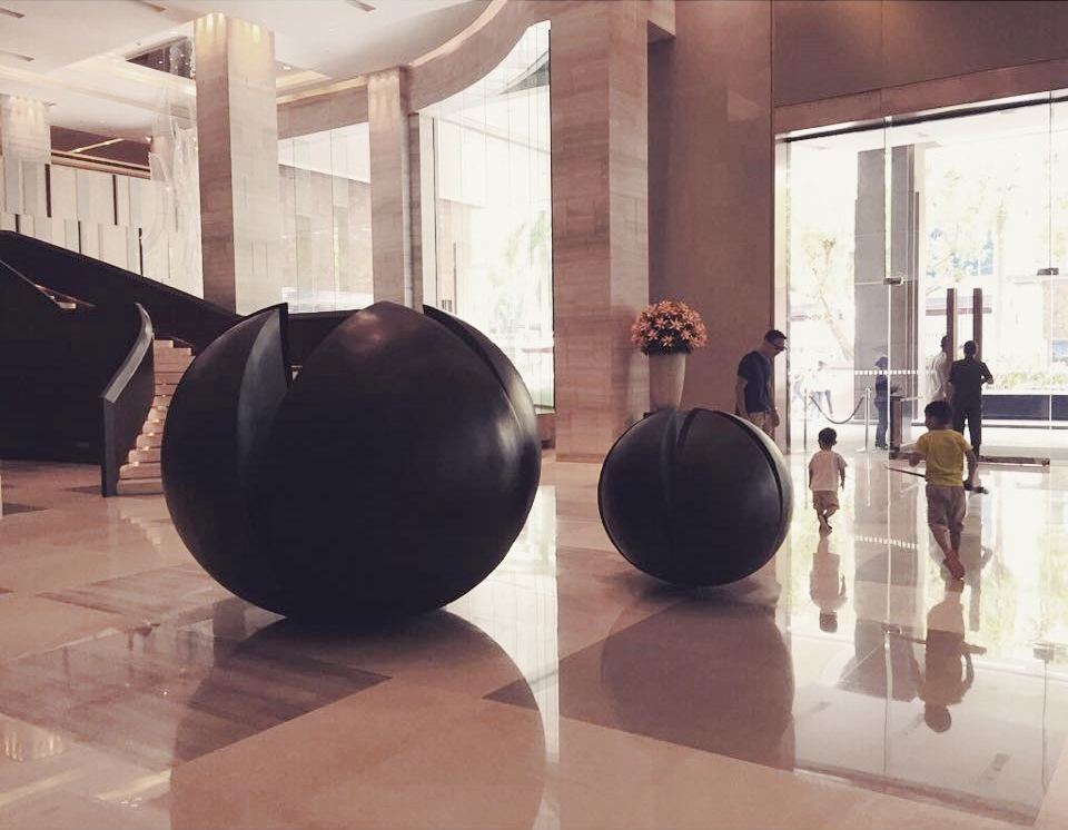 new world makati lobby
