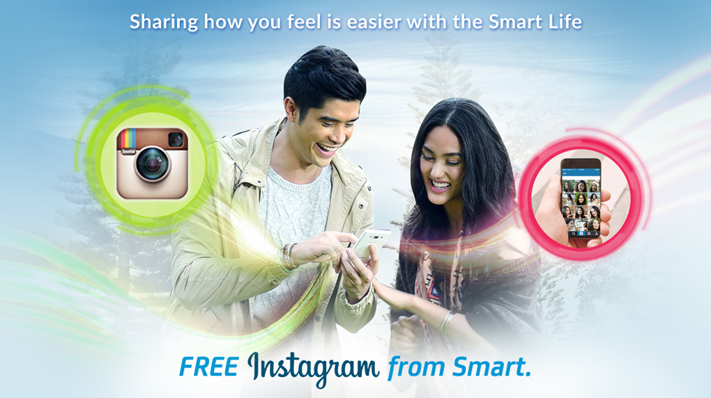 Use Instagram without Extra Data Charges! Thank you SMART